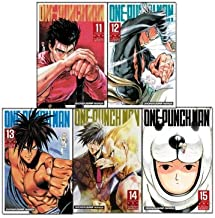 One-Punch Man Volume 11-15 Collection 5 Books Set (Series 3)