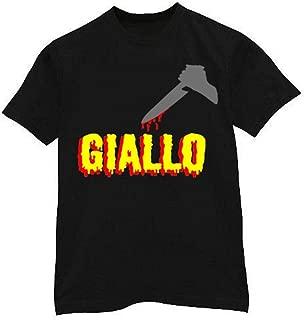 Men's Giallo Italian Horror Movie T-Shirt