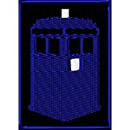 FLYING TARDIS 1 WATERPROOF DOCTOR DR WHO STICKER DECAL LAP TOP LUNCHBOX