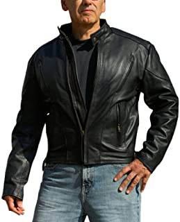 Interstate Leather Men's Touring Jacket (XX-Large)