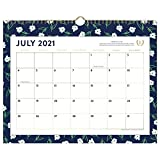 Academic Wall Calendar 2021-2022, Simplified by Emily Ley for AT-A-GLANCE, Monthly, 15' x 12', Medium, for School, Teacher, Student, Dogwood (EL61-707A)