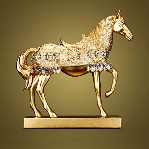 Chinese Feng Shui Horse Statue Sculpture Home Office...
