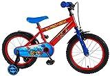 E&L Cycles Bicicleta infantil de la Patrulla Canina, 16 pulgadas, freno de contrapedal con ruedas de apoyo de 4-6 años