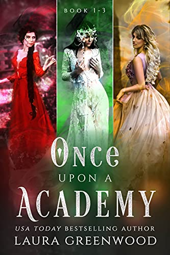 Once Upon An Academy 1-3 Laura Greenwood fantasy fairy tale academy