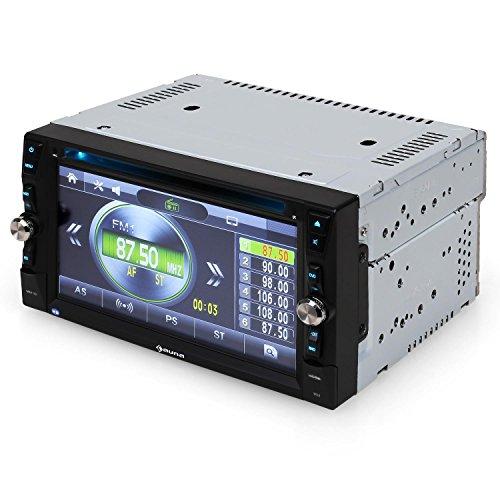 Auna MVD-481 autorradio con Pantalla táctil TFT de 6,2