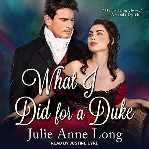 What I Did for a Duke audiobook cover art