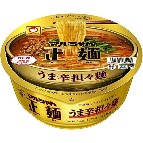 大山即席斎選出_第8位:東洋水産『マルちゃん正麺カップうま辛担々麺』