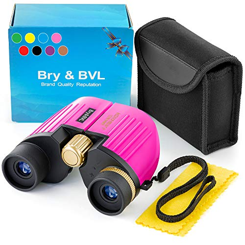 Girls Toys – Hottest Toys for Christmas 2020 - Birthday Present – Toys for 3 4 5 6 7 + Year Old Girls – 8X22 Binoculars for Girls – Juguetes para niñas – Kids Binoculars Girls for Bird Watching – Pink