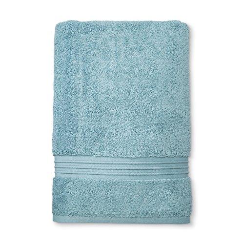 Fieldcrest Luxury Hand Towel, Aqua Spill
