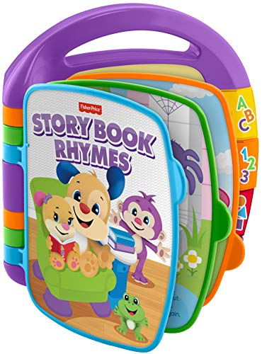 Fisher-Price Laugh & Learn Storybook Rhymes Book $7.50 + Free Shipping w/ Amazon Prime or Orders $25+