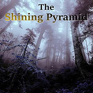 The Shining Pyramid audiobook cover art