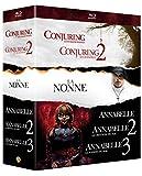 Coffret 6 films : Conjuring : les dossiers Warren + Conjuring 2 : le cas Enfield + Annabelle + Annabelle 2 : la création du mal + Annabelle : la maison du mal + La Nonne [Francia] [Blu-ray]