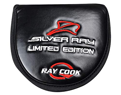 Ray Cook Golf Limited Edition Silver SR500 Putter, Red, 35""