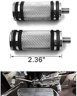 HK MOTO 2 PCs Chrome Narrow Band Billet Shifter Peg For Harley Davidson all models (Heritage Softail Classic FLSTC/ Fat Boy FLSTF/ Breakout FXSB/ CVO Pro Street Breakout FXSE/ Road King FLHR)