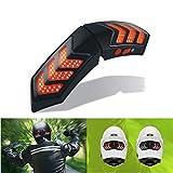 Alamor 12V Wireless Smart Motorradhelm Lichter W/USB aufladen casque Brems Signal Lampen wasserdicht