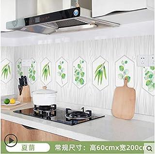 Autocollant mural étanche pour armoire de cuisine carrelée étanche à l'huile pour cuisinière 8