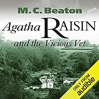 Agatha Raisin and the Vicious Vet Titelbild