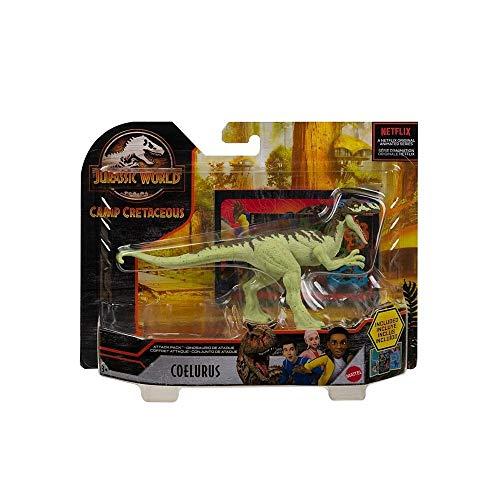 Jurassic World Attack Pack Coelurus Dinosaurier Figur