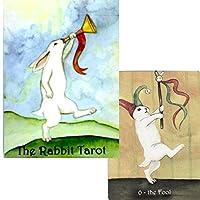 【可愛いうさぎたちが駆け回ります】 ラビット・タロット 日本語解説書付き The Rabbit Tarot