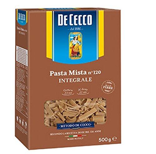 Pasta De Cecco Pasta mista integrali n. 120 Vollkorn italienisch Nudeln 500 g