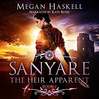 Sanyare: The Heir Apparent  audiobook cover art