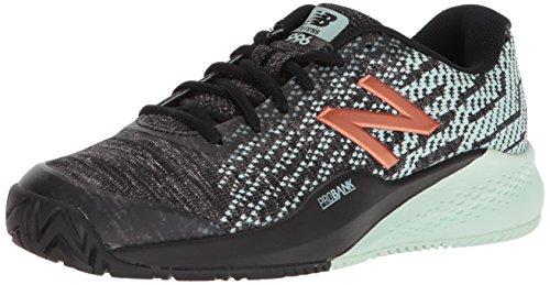 New Balance Women's 996 V3 Hard Court Tennis Shoe, Seafoam Green, 11 B US