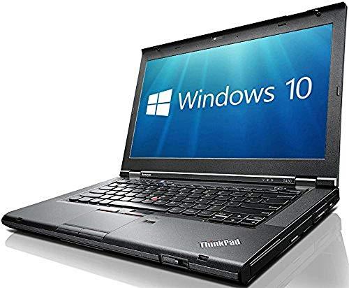 Lenovo ThinkPad T430 14-Inch LED Notebook - (Black) (Intel i5-3320M, 8 GB RAM, 120 GB SDD, Windows 10 Pro) (Renewed)