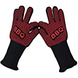 John Norine Sinland Oven Mitts Gloves BBQ Grilling Cooking Gloves
