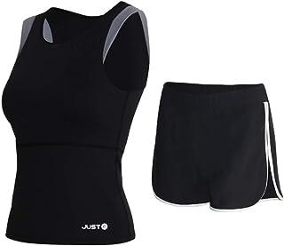 Yoga Wear Women's Sport Suits Vest Design Sweatsuits Yoga Jogging Tracksuits