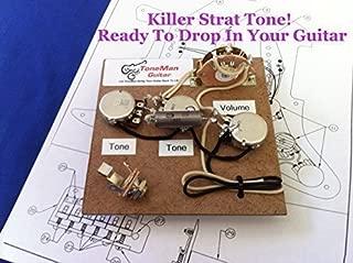 Stratocaster Prewired Wiring Harness Kit - Eric Johnson Wiring Set Up .1uf Vintage PIO Tone Cap