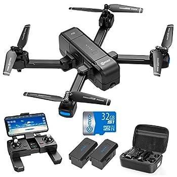 Best contixo f22 rc foldable quadcopter drone 2 Reviews