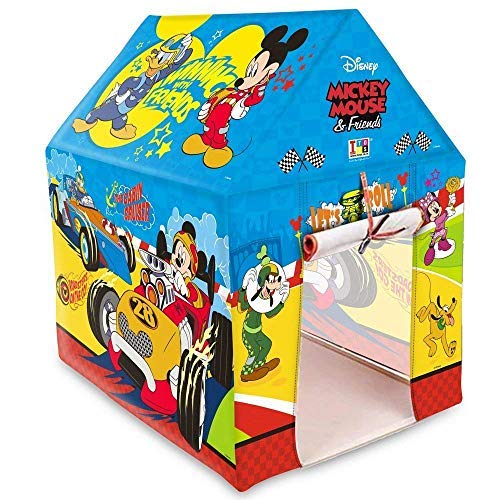 ARHA IINTERNATIONAL Jumbo Size Extremely Light Weight , Water Proof Mickey Mouse Kids Play Tent House for 5 Year Old Girls and Boys