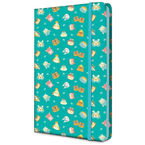 """Controller Gear Animal Crossing""""Teal Icons"""" Journal - Officially Licensed and Authentic - Not Machine Specific"""