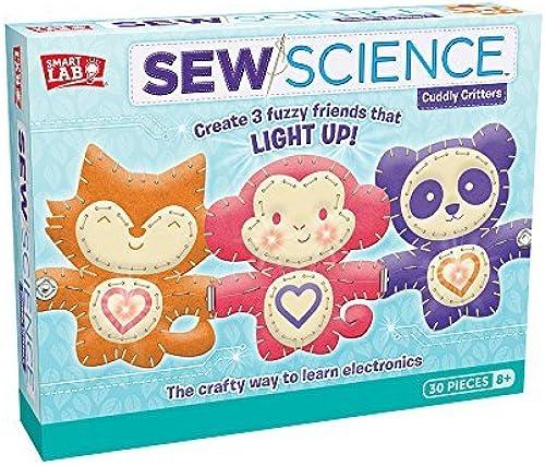 marcas de moda SmartLab Toys Sew Sew Sew Science  Cuddly Critters by SmartLab Toys  en stock