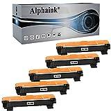 Alphaink 5 Toner compatibili con Brother TN-1050 TN-1000 per stampanti Brother HL-1210W HL-1212W HL-1110 HL-1112 DCP-1510 DCP-1512 DCP-1610W DCP-1612W MFC-1810 MFC-1910W