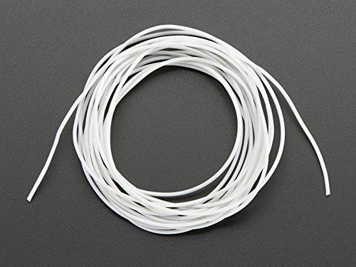 Adafruit Silicone Cover Stranded-Core Wire - 2m 30AWG White [ADA2006]