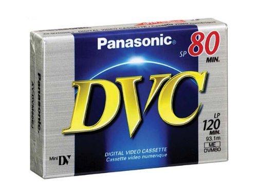Why Choose Panasonic AY-DVM80EJ MiniDV Cassette (80 Minute)