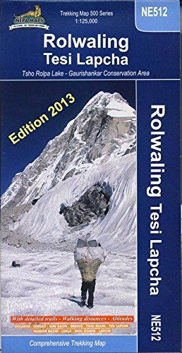 Rolwaling Himal: Gaurisankae-Tesi Lapcha (Nepa Trekking Maps)