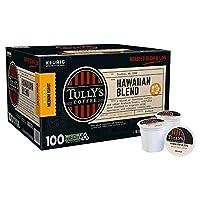 Tully's タリーズ【キューリグ K-CUP】【80個入り】 ハワイアンブレンド ミディアムロースト 【アメリカ直送品】