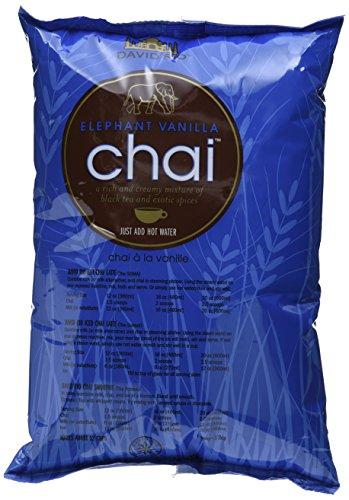 David Rio - Elephant Vanilla Chai, Nachfüllbeutel (1 x 1.814 kg)