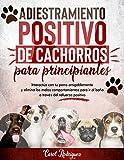 Adiestramiento positivo de cachorros para principiantes: Interactúa con tu perro amigablemente y elimina los malos comportamientos para ir al baño a través del refuerzo positivo (Spanish Edition)