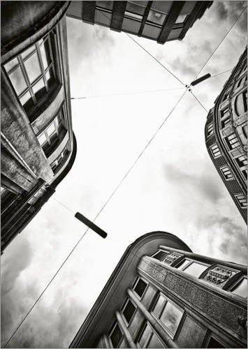 Posterlounge inkl. Wandhalterung
