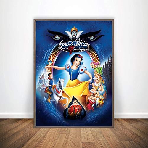 Snow White Poster Wall Handmade Max 44% OFF Dis Decor shop
