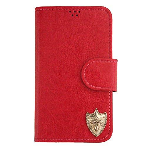 【ROCOCO】GALAXY S4 ケース ギャラクシー 手帳型ケース SC-04E 手帳型カバー 携帯ケース スマホケース かわいい 収納 カード入れ Diary Case 携帯 シンプル 人気 デザイン 丈夫 icカード入れ 盾 タテ カッコイイ Sa