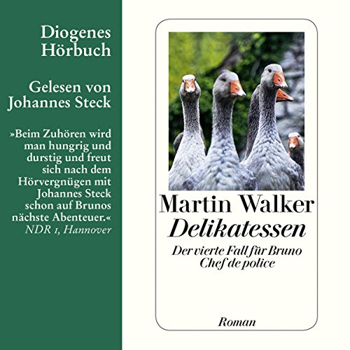 Delikatessen (Bruno Courrèges 4) audiobook cover art