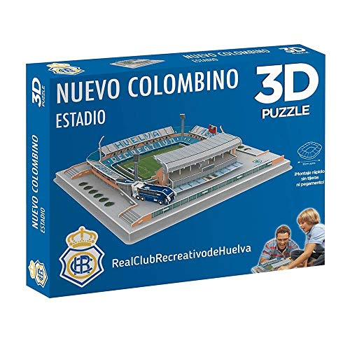 Eleven Force Puzzle Estadio 3D Nuevo Colombino (Recre), Multicolor, Talla Única (10179)