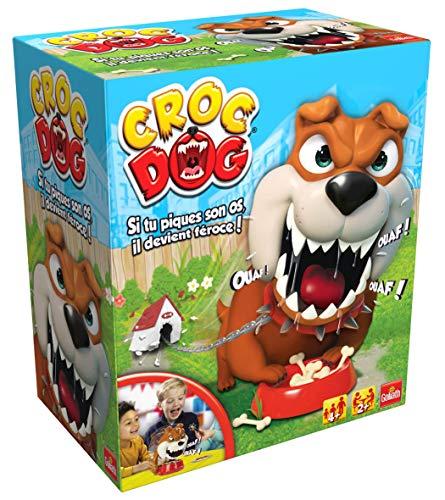 Goliath - Croc Dog - Jeux denfants - à partir de 4 ans- Jeu de société - Jeu dadresse