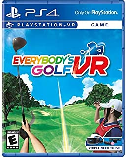 Everybody's Golf VR PlayStation 4 みんなのゴルフVR プレイステーション4北米英語版 [並行輸入品]