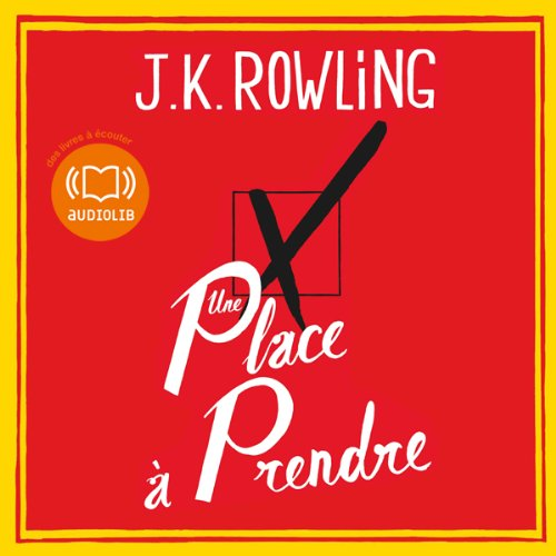 Une place à prendre audiobook cover art