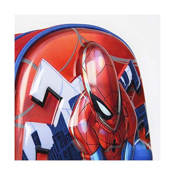 51Wd1hf2BbL. SS600  - Cerdá, Mochila Infantil 1-5 Años de Spiderman con Licencia Oficial de Marvel Studios-Medidas 25 x 31 x 10 cm Unisex…